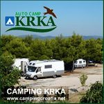 Camping Krka at Krka National Park, Croatia