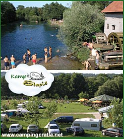 Camping Slapic on Mrežnica river