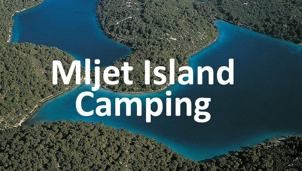 Two lakes on Mljet