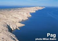 Pag Island landscape